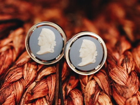 Vintage Wedgewood Jasperware Emperor Cufflinks