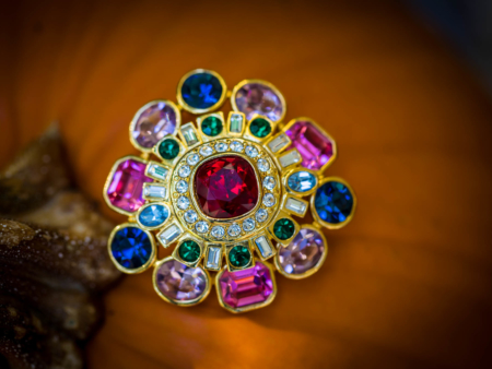 Joan River Brooch