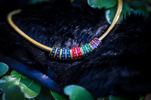 Joan Rivers Reversible Slide Necklace