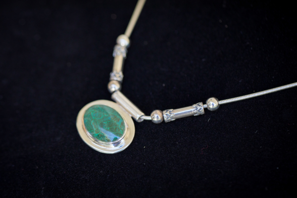Vintage Eilat Pendant in Sterling Silver from Israel